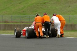 Lauda failed to fire his engine