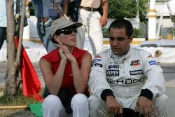 Connie and Juan Pablo Montoya