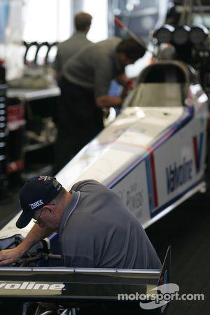 Work in the garage