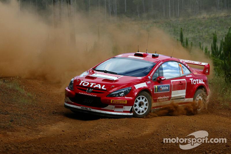 Australia (Rally de Australia): 25 ediciones