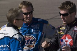 Mark Martin, Rusty Wallace and Jamie McMurray
