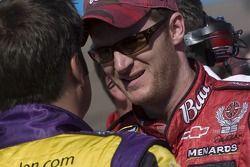 Dale Earnhardt Jr. et Robby Gordon