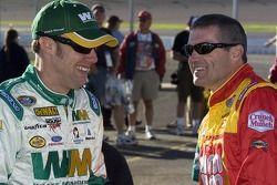 Matt Kenseth and Bobby Labonte