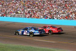 Rusty Wallace y Dale Earnhardt Jr.