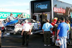 Jimmy Spencer out of the race