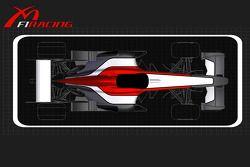 yeni logo ve renk düzeni for Midland F1 Racing team