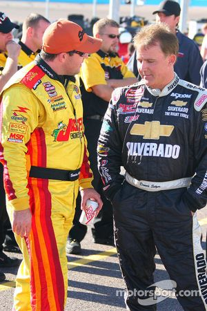 Brendan Gaughan and Dennis Setzer