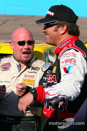 Todd Bodine and Mike Skinner