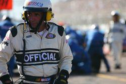 A NASCAR official