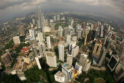 A view of Kuala Lumpur from the KL Tower