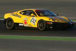 #132 Jonathan Sicart Ferrari 360 Modena: Carine Sicart, Jonathan Sicart, Ange Barde
