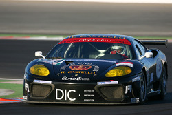 #89 JMB Racing Ferrari 360 Modena: Chris Buncombe, Albert von Thurn und Taxi, Lorenzo Case