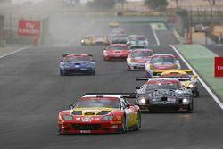 Start: #3 G.P.C. Sport Ferrari 575 Maranello GTC: Andrea Montermini, Marco Cioci