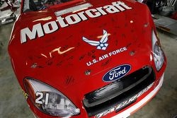 Tribute to Ricky Rudd on the Wood Brothers #21 car