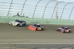 Ryan Newman, Jeff Gordon and Carl Edwards