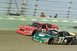 Dale Earnhardt Jr. and Mike Skinner