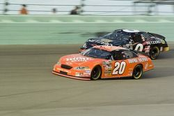 Tony Stewart and Mike Bliss