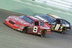 Dale Earnhardt Jr. and Joe Nemechek