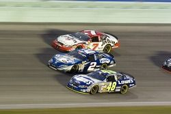 Jimmie Johnson, Rusty Wallace and Robby Gordon