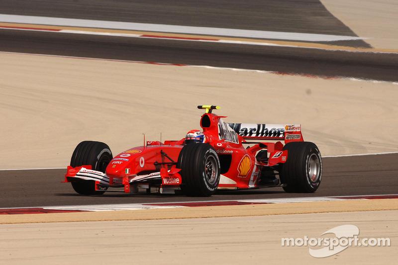 Марк Жене (в резерве Ferrari с 2004 года)