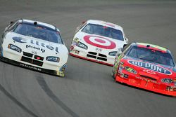 Ryan Newman, Casey Mears and Jeff Gordon