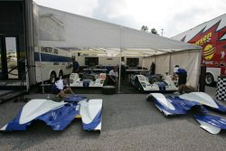 Dyson Racing paddock area