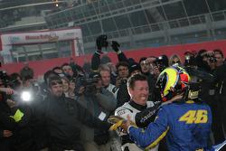 Valentino Rossi and Colin McRae