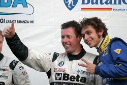Valentino Rossi and Colin McRae