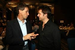 Roberto Ravaglia ed Andy Priaulx