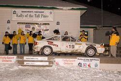 Steve Martin et Melanie Cote (troisième place régionale)