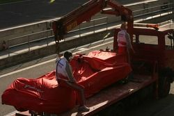 Toyota et Ralf Schumacher arrêtés sur la piste