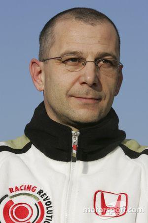 Mark Ellis l'ingénieur en chef de l'écurie BAR Honda