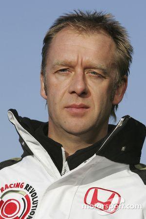 Andrew Alsworth le directeur d'équipe de BAR Honda