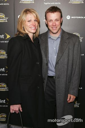 Matt Kenseth arrives at the 2005 NASCAR Nextel Cup Series Championship Party At Marquee