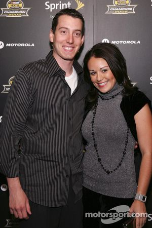 Kyle Busch arrives at the 2005 NASCAR Nextel Cup Series Championship Party At Marquee