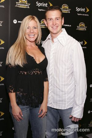 Kurt Busch arrives at the 2005 NASCAR Nextel Cup Series Championship Party At Marquee