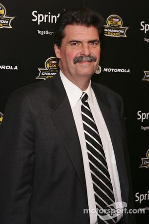 NASCAR president Mike Helton arrives at the 2005 NASCAR Nextel Cup Series Championship Party At Marquee