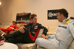 Christijan Albers and Jean Alesi