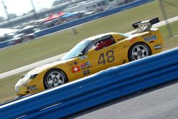 #48 Xtreme Racing Group Corvette: Toni Seiler, Robert Dubler, Hans Hauser, Anthony Puleo