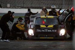 Pitstop for #10 SunTrust Racing Pontiac Riley: Wayne Taylor, Max Angelelli, Emmanuel Collard