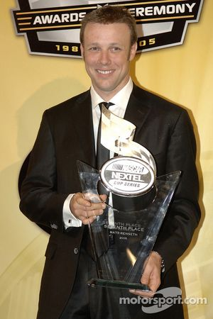 NASCAR Nextel Cup Awards Banquet at the Waldorf Astoria Hotel: Matt Kenseth