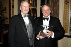 NASCAR Nextel Cup Awards Banquet at the Waldorf Astoria Hotel: Mose Nowland and Edsel Ford IV