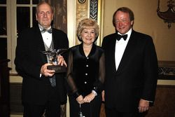NASCAR Nextel Cup Awards Banquet at the Waldorf Astoria Hotel: Mr and Mrs Mose Nowland with Edsel Ford IV