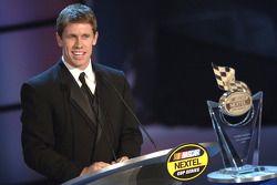 NASCAR Nextel Cup Awards Banquet à l'hôtel Waldorf Astoria: Carl Edwards