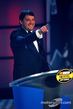NASCAR Nextel Cup Awards Banquet à l'hôtel Waldorf Astoria: Tony Stewart