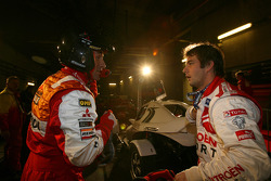 Stéphane Peterhansel and Sébastien Loeb