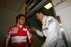 Felipe Massa et Jean Alesi