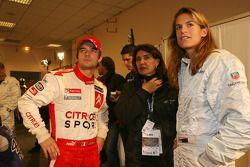 Sébastien Loeb, Michèle Mouton et Amélie Mauresmo