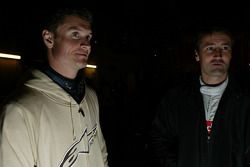 David Coulthard et Bernd Schneider