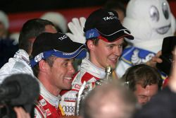 Tom Kristensen et Matthias Ekström, les vainqueurs de la
